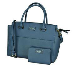 224ad749b2848 Kate Spade New York Women s Lana Grove Street Tote Leather Handbag bundled  with Tellie Grove Street Wallet