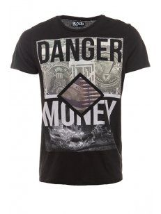 Blood Brother Danger Money T-Shirt Black - £35
