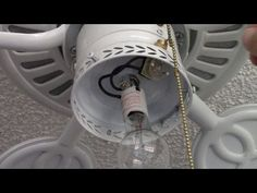 how to fix a ceiling fan light switch pull chain pinterest light