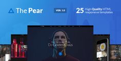 ThePear - Responsive HTML Onepage Template . ThePear - Responsive HTML Onepage Template