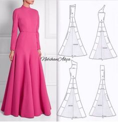 Amazing Sewing Patterns Clone Your Clothes Ideas. Enchanting Sewing Patterns Clone Your Clothes Ideas. Long Dress Patterns, Skirt Patterns Sewing, Clothing Patterns, Pattern Sewing, Skirt Sewing, Pattern Drafting, Diy Clothing, Sewing Clothes, Fashion Sewing