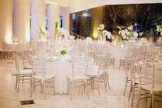 Beautiful White Wedding and white flowers