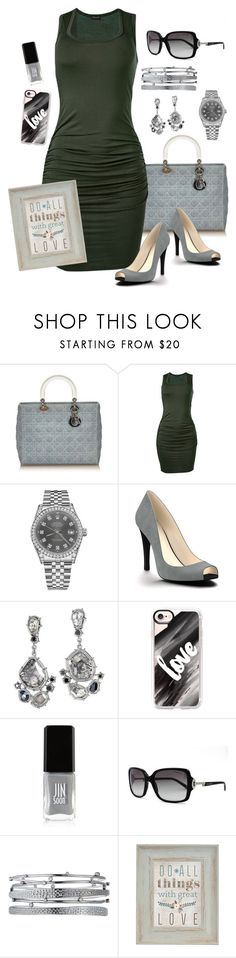 """""""Date........."""" by ericjen8685 ❤ liked on Polyvore featuring Venus, Rolex, Shoes of Prey, Casetify, JINsoon, Tiffany & Co., Kendra Scott and Belle Maison"""