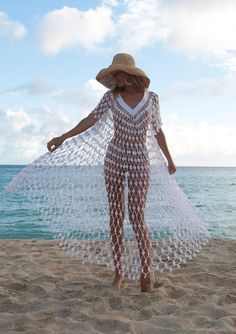 43 Ideas Sewing Clothes Summer Bathing S - Diy Crafts Sewing Clothes, Crochet Clothes, Summer Bathing Suits, Lingerie Fine, White V Necks, Crochet Fashion, Boho Dress, Ideias Fashion, Beachwear