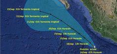 Huracán Polo generará lluvias intensas en tres estados
