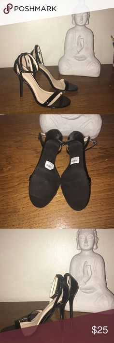 NWT Black Pumps Super cute black pumps, brand new, & about a 5 inch heel. No box Charlotte Russe Shoes Heels