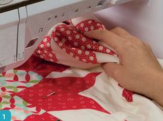 Tips for Basting a Quilt from Pat Sloan