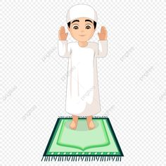Salah Salah, Symbols Of Islam, Ramadan Prayer, Eid Al Adha Greetings, Boy Crying, Star Illustration, Islamic Cartoon, Islam For Kids, Prayer Times