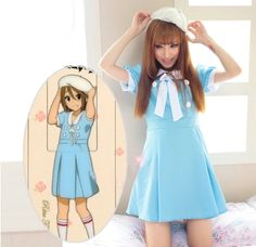 Japanese cosplay kawaii anime dress at sanrense.com Get 10% off at checkout with coupon code: krissykitty