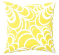 DG37 Bambi 50x50cm Filled Cushion Lemon