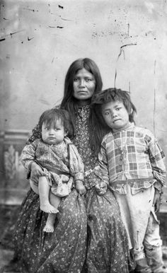 """Chee-Hash-Kish"" (Apache)  She was one of the wives of Apache warrior Geronimo and  mother of his daughter Lulu Dohn-zay Geronimo (1865 - 1898) & son Chappo Geronimo (1867 - 1894)"