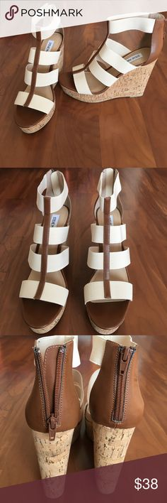 """Steve Madden. New with tag. Size 9.5 Platform 5"""" in the back, 1.5"""" in the front. Very beautiful. Steve Madden Shoes Platforms"""