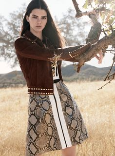 Photographed by David Sims, Vogue, January 2015 The 10 Best Cropped Jackets to Channel Kendall Jenner's Look in Vogue
