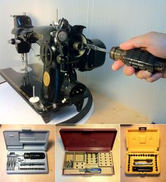 The Vintage Singer Sewing Machine Blog: Screwdrivers, Part 3: Which Set Do I (or Don't I) Need?