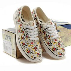 Classic Vans Disney Mickey Mouse Old School | IdolStore