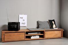 Mueble Tv Elemental L Teca