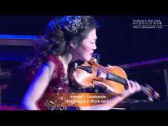 Handel - Sarabande Rock version KBS Hall Violinist Ji-Hae Park JHP -바이올리...