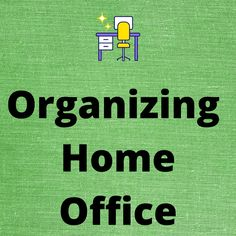 Office Organization Tips, Organizing Tips, Organizing Your Home, Organizers, Organizing Clutter, Organization Ideas