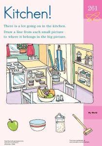Kitchen Chaos Clean Up Worksheet - personal hygiene worksheet