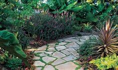 6 steps to laying your own flagstone path These step-by-step instructions make it easy to install a stunning walkway in one weekend. And you don't need to be an expert to pull it off