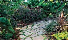 more flagstone paths