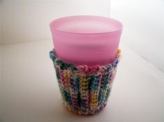 These coffee cup cozies are perfect when protecting your hands from a hot cup (from my favorite place Starbucks) but they also work great in the summertime to help absorb the moisture from your glass. No more worrying about moisture circles on your end tables.Crochet from 100% Cotton Yarn which absorbs moisture, protects your hands and is machine washable!These make great Christmas/Holiday gifts for your co-workers, grandmother, mother and sister!