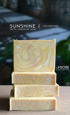 Sunshine | soap collection [soon on bymiobi.etsy.com]
