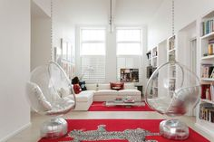 Modern Contemporary - white with a splash of color