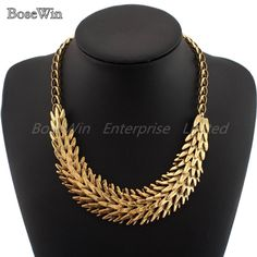 Hot Sell Vintage Chain Multilayer Metal Squama Statement Necklace Women Jewelry Gold and Silver Colors CE1683 $7.99