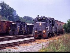 RailPictures.Net Photo: GFRR 8314, GFRR 8395 Georgia Florida EMD GP11 at Albany…