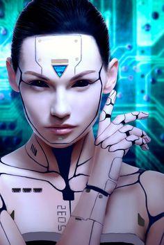 Fill in the metail details – Cyberpunk Gallery Cyberpunk 2077, Cyberpunk Kunst, Cyberpunk Girl, Cyberpunk Games, Futuristic Makeup, Futuristic Art, Character Inspiration, Character Art, Character Design