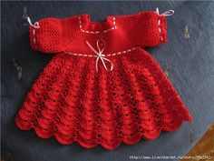 THIS BEAUTIFUL GIRL I thought. Dress CHILD OF CROCHE. - Crochet Designs Free