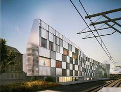 Résidence étudiante, migrant, jeune travailleur - Tank Architectes
