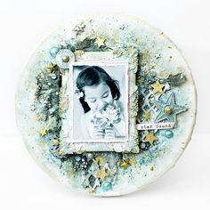 Tiffany Solorio Mammatiffy's Gallery: Star bound mixed media canvas