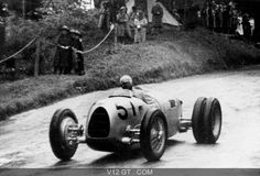 """"""" Hans Stuck (Germany) 27 Dec 1900 - 9 Feb 1978 Hans Stuck's part in the Auto Union team's grand prix success over the six years in which they competed is often overlooked. As far as grand prix racing is concerned he may have. F1 Racing, Racing Team, Lord Photo, Automobile, Auto Union, Classic Race Cars, Car Painting, Vintage Racing, Mercedes Amg"""