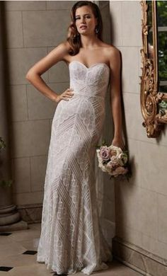 Wtoo 14106 wedding dress currently for sale at 50% off retail.