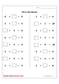 Free Printable First Grade Worksheets, Free Worksheets, Kids Maths ...