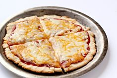 You won't even realize that this gluten free pizza crust is in fact grain and gluten free! A perfect start to any pizza.