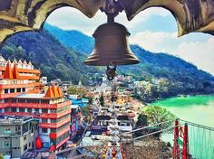 Rishikesh is one of the most enchanting hill stations of the country. Often referred as the 'Yoga Capital of the World', the hill station attracts hordes of tourists every year. #Beautiful_view_of_Rishikesh_from_Triambakeshwar_Temple.