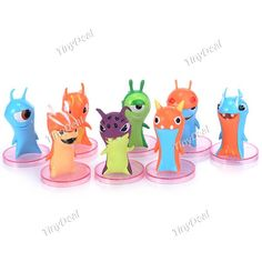 8 x Cartoon Docrates Elves Theme Elves Doll Plaything Desktop Display Collection Toy TCT-289459