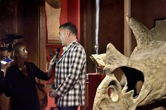 Luca Cableri interviewed during the press conference on 19th September when Theatrum Mundi opened its doors with the 1st vernissage #wunderkammer #theatrummundi #tmundinight