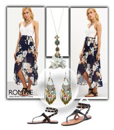 """""""Romwe IV/9"""" by dzemila-c ❤ liked on Polyvore featuring vintage and romwe"""