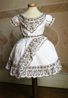 Child's dress, circa 1862