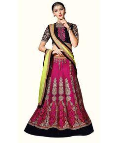Buy Stunning Black Lehenga Choli online at  https://www.a1designerwear.com/stunning-black-lehenga-choli-2  Price: $61.97 USD