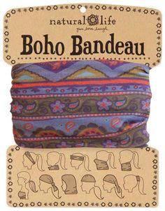 A Little Bit Hippy Paisley Boho Bandeau