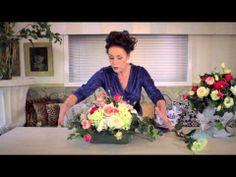 ▶ Astar #Floristry Round Bowl pt2 - YouTube