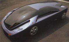 1991 Art & Tech VERA, Futuristic Car, Concept Car, Retro-Futuristic