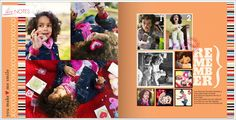 February_Valentines Day_myProjectLife2012 (Shutterfly photobook, Project Life Clementine Edition)
