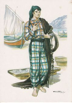O pescador(Nazaré Portugal) Portuguese Fisherman