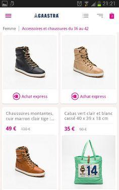 GAASTRA chaussures femmes